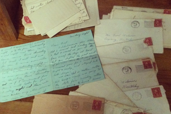 Great MawMaw Melvin's Letters to Fred