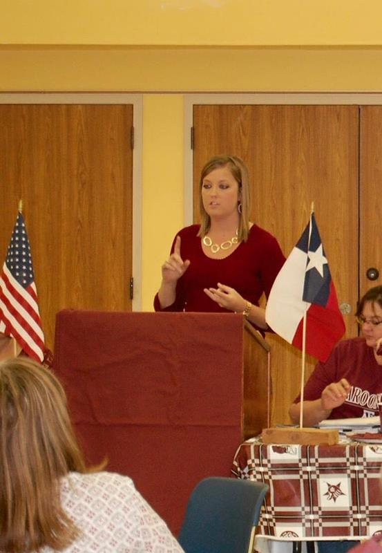 Tri-County Aggie Moms Meeting- LaGrange, TX