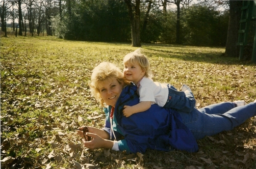 Mom and Holly - 1997