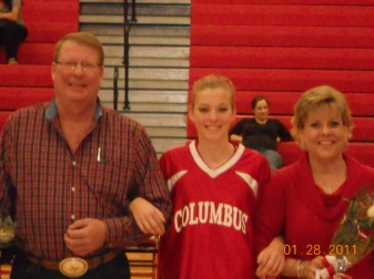 Basketball Parent's Night - 2011