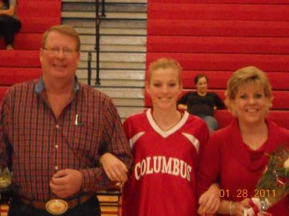 Basketball Parent's Night - 2011