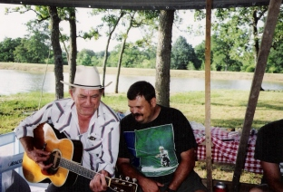 Grandpa and Troy - 1991- Weimar, TX