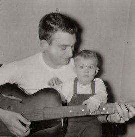 Grandpa and Uncle Cork - 1957 - Indiana