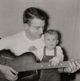 Grandpa and Uncle Cork - 1957 - Indiana