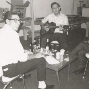 Uncle Bud and Grandpa - 1963 - Lansing, Michigan