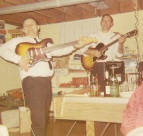 Grandpa and Bob Light - 1968 - Monroe, Michigan