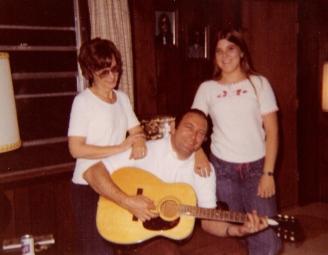 Grandma, Grandpa and Mom - 1977 - Spring, TX