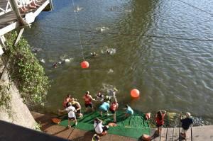 TriWaco 2018 Swim in the Brazos River